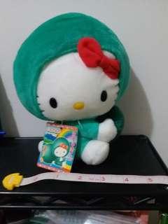 1976,2003 Sanrio Hello Kitty  北海道當地 限定 可除帽 公仔