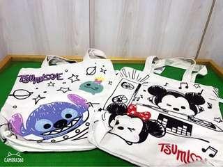 🚚 Mickey Minnie  / stitch Canvas bag