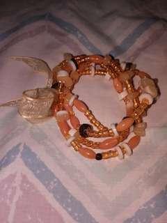 Bracelet (light orange)
