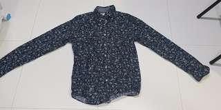 Brand new Zara Long Sleeve Shirt (L Size)