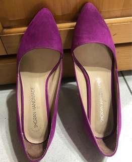 韓貨 大紅大紫喜氣洋洋跟鞋