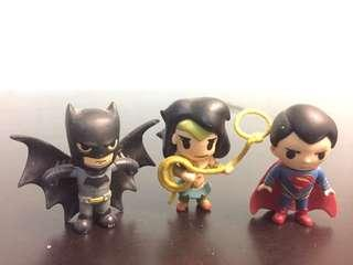 DC Batman Wonder Woman Superman