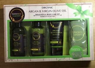 Boteneco Garden Organic Argan & Virgin Olive Oil Set