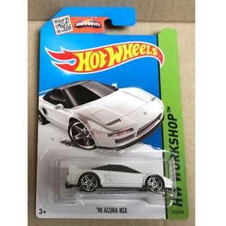 Hot Wheels 2015 '90 Acura NSX.