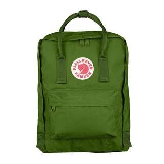 [sales clearance] Fjallraven Kanken Classic Backpack - Green