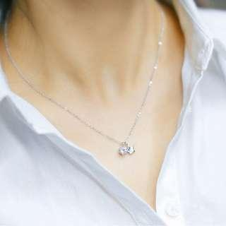 🚚 [Last piece] Star studded pendant and silver necklace - Korean - Minimalist - S925 - Sterling Silver