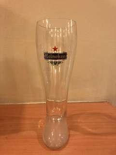 Heineken Tall Beer Glass