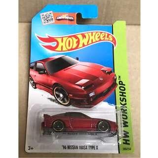 Hot Wheels 2015 '96 Nissan 180SX Type X.