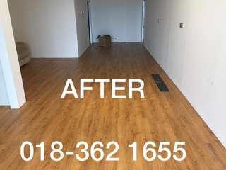 Vinyl Floor / Waterproof Flooring / Lantai Kayu PVC