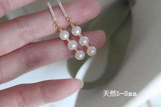 🔸簡約大方🔸淡水珍珠耳環🔸