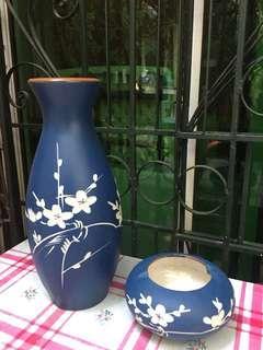 Blue vase Bowl