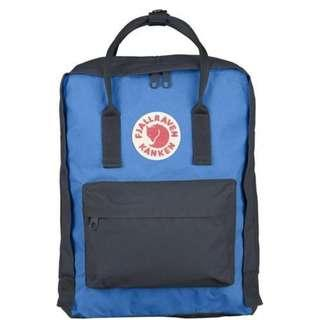 [sales clearance] Fjallraven Kanken Classic Backpack - Graphite/Un Blue