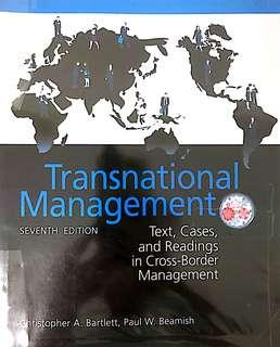 MBA Transnational Management