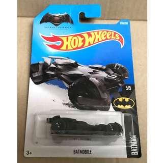 Hot Wheels 2015 Batman vs Superman Batmobile.