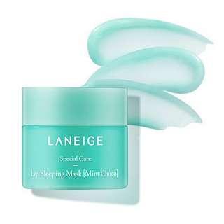 [100% Authentic Laneige] Lip Sleeping Mask Choco Mint