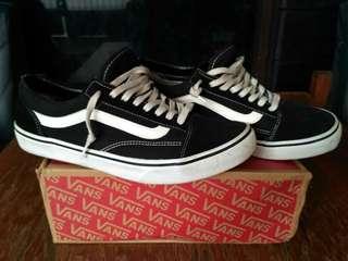 Vans Oldskool Black White size 44