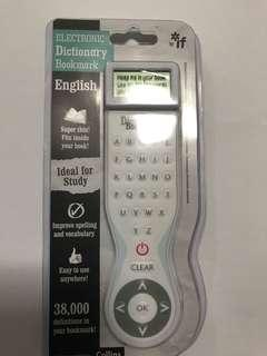 Electronics bookmark