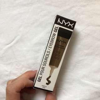 NYX eyebrow gel (chocolate)