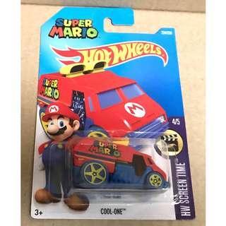 Hot Wheels Super Mario Cool One.