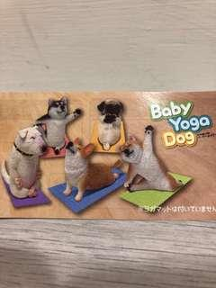 🚚 Baby yoga dog gachapon gasha capsule toy
