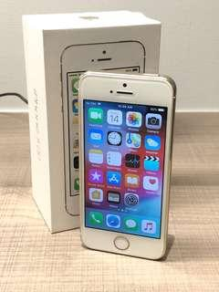 iPhone 5S Gold 32GB - new battery (replacement)