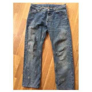 Helmut Lang AW1999 Mens Vintage Painter Jeans