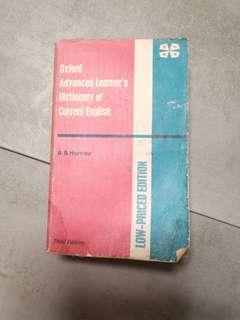 Oxford Advanced Learner's Dictionary of Current English 3rd Ed. ELBS