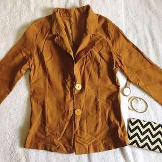 Golden Brown Blazer