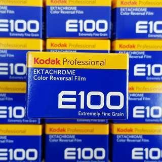 35mm Kodak Ektachrom E100 Fresh Slide Film ! ( Ektachrome 100 Fresh Film Roll )