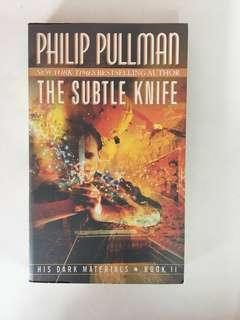 The Subtle Knife by Philip Pullman (His Dark Materials Trilogy) Book 2 Paperback