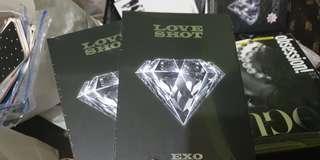 Exo LOVE album (loveshot) sealed