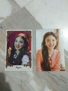 [WTS] Twice Nayeon Yes Or Yes and The Year Of Yes Monograph Photocards
