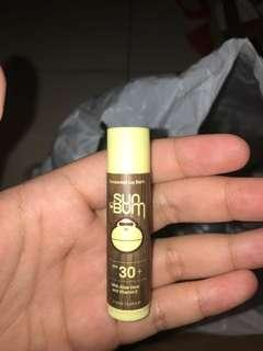 SUNBUM banana lipbalm (nvr been used)