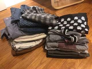 Bundle sale! Tops bermudas and shirts