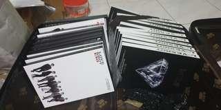 Exo loveshot unsealed album 😇 free folded poster, nonpc, CD never played