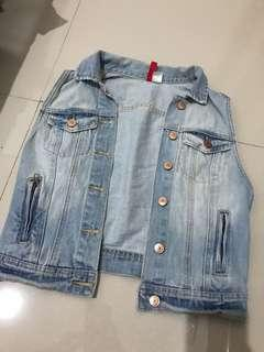 Jaket Jeans outer HnM