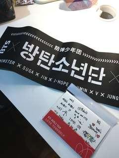 💜 BTS tattoo sticker and banner #APR10