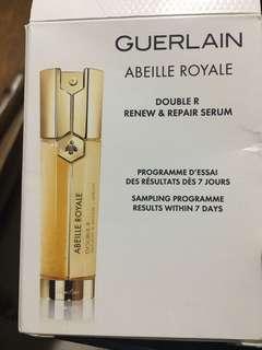 Guerlain doubler Renew & repair serum 14packs x0.6ml