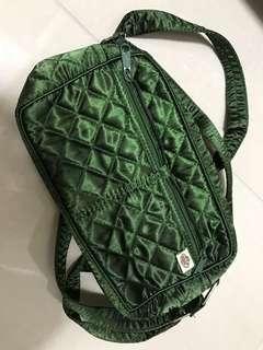 Green sling little pouch Naraya