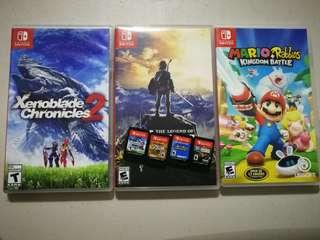 Nintendo Switch Games Bundle