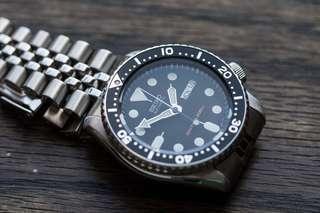 🚚 Seiko SKX007K2 Automatic Diver Watch Stainless Steel Bracelet (SKX007 SKX 007)