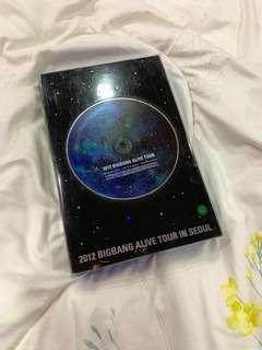 [USED] Bigbang 2012 Alive Tour DVD