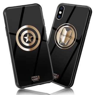 原裝正版MARVEL授權 iphone Case 手機殼 手機套 captain america ironman 美國隊長 鋼鐵俠