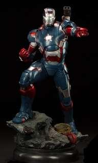 IRON PATRIOT 1/4 SCALE MAQUETTE -Slideshow Collectibles