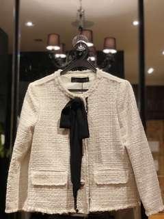 🚚 Brand New Zara Tweed Top/Jacket