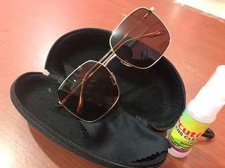 Sunglasses Dior ( sunset colour/ cokelat )