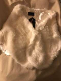 禮服婚紗仿狐狸毛披肩