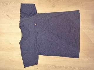 🚚 Denim color stretchable material Tshirt