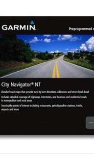 Garmin City Navigator Australia & New Zealand Maps HERE