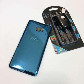 HTC U ULTRA good condition no box with charger